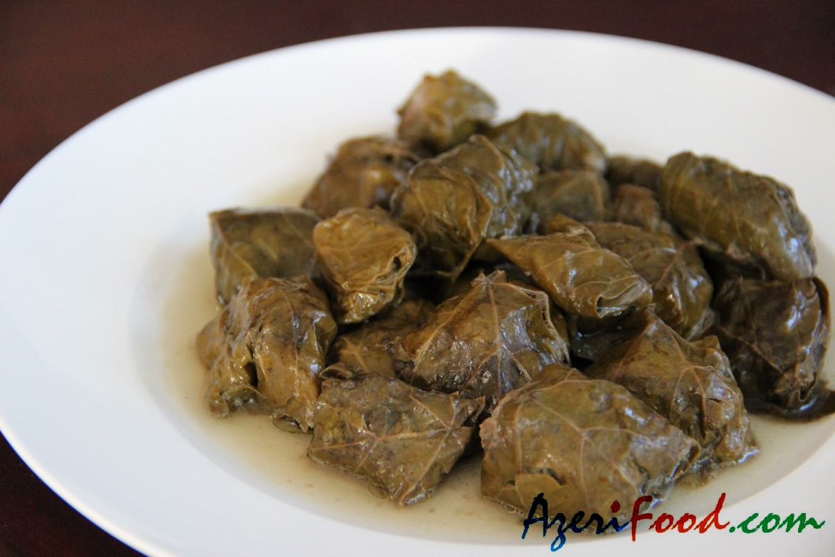 Dolma of grapeleaves